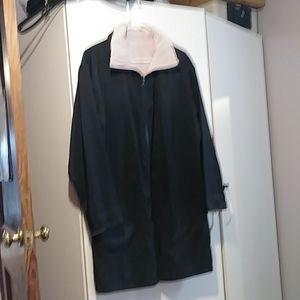 MP-Fashion Black/Pink Rain Jacket Size 12